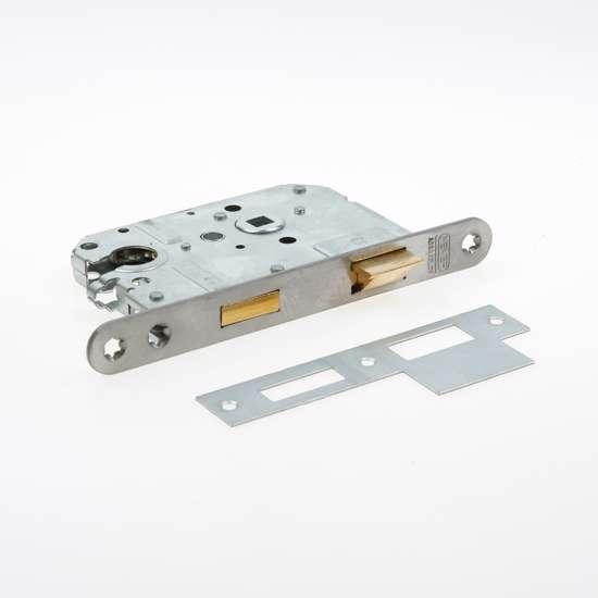 Afbeelding van Nemef Cilinder dag- en nachtslot deurslot type 1269/17-50/PC55mm DIN links