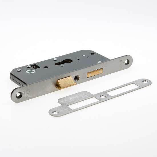 Afbeelding van Nemef Veiligheids Cilinder dag- en nacht seniorenslot PC72mm type 4429/27-55 DIN rechts