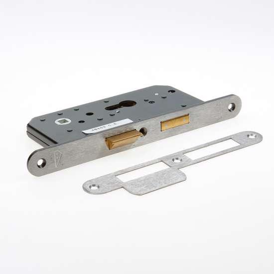 Afbeelding van Nemef Veiligheids Cilinder dag- en nacht seniorenslot PC72mm type 4429/27-55 DIN links