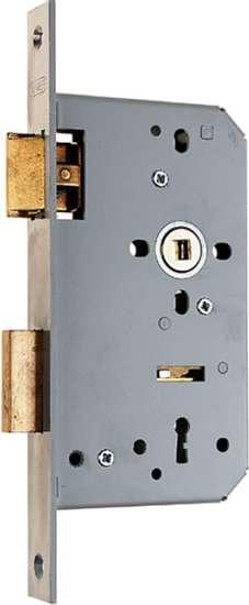 Afbeelding van Nemef Klavier dag- en nachtslot deurslot PC72mm type 666/4-kv-60 DIN links
