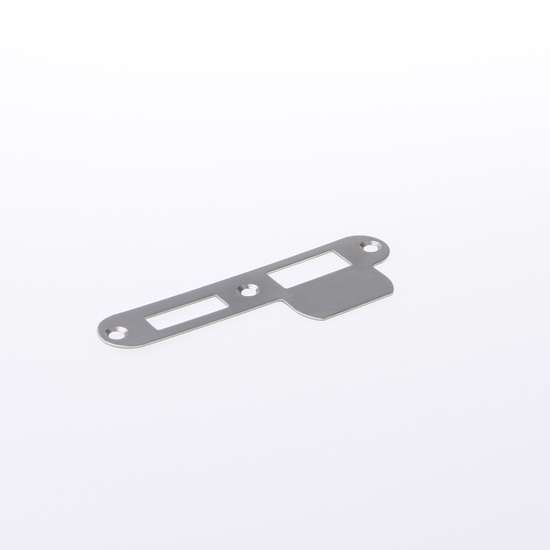 Afbeelding van Nemef Sluitplaat RVS rond type P 1279/17 DIN links