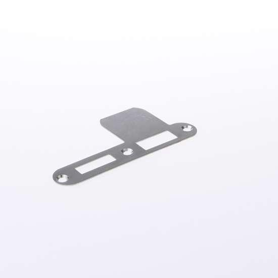 Afbeelding van Nemef Sluitplaat RVS rond type VP 1279/17 Ls DIN rechts