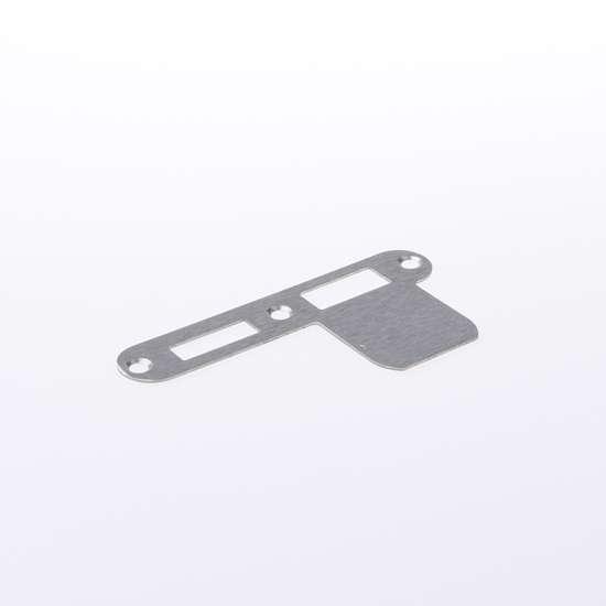 Afbeelding van Nemef Sluitplaat RVS rond type VP 1279/17 Rs DIN links