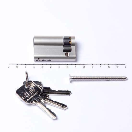 Afbeelding van Langschild rechthoekig ASL aluminium F1 SL56