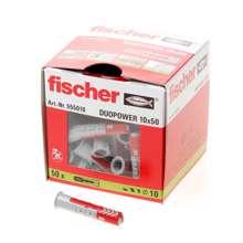 Afbeeldingen van Fischer plug Duopower 10x50mm