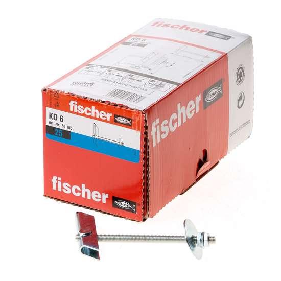 Afbeelding van Fischer Tuimelplug verzinkt KD 6 100mm