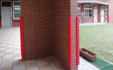 Afbeeldingen van Verstelbare ondergeleider voor glasdeuren van 8 t/m 12 mm