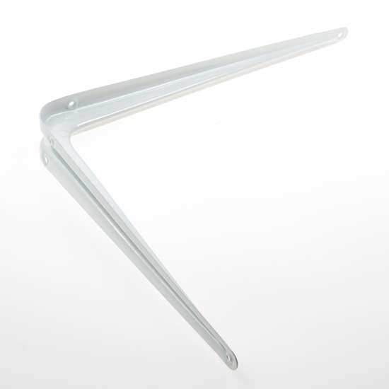 Afbeelding van ES 13502 Plankdrager staal geperst 300 x 350mm wit gelakt 0513.101.3035