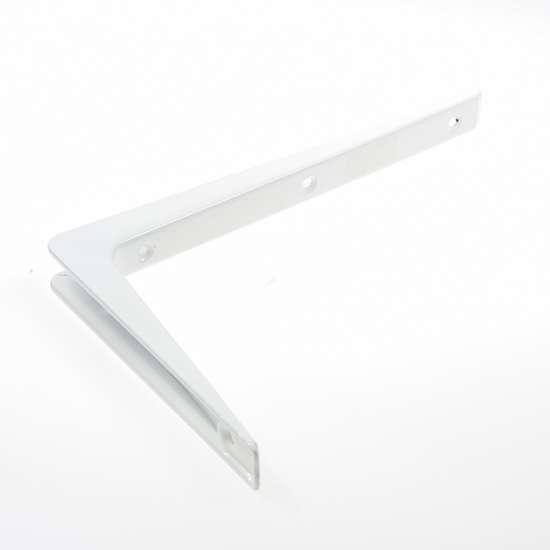 Afbeelding van ES 3302B Drager aluminium 200 x 300mm wit gelakt 0513.210.3302