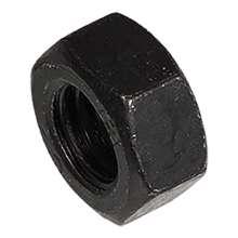 Afbeeldingen van Moer zwart din934 M6 Verpakt per 100 stuks