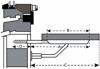 Afbeelding van ES 6818B Vensterbankdragerdraagvlak 180mmstaal wit geëpoxeerd 0511.200.6818