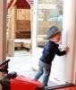 Afbeelding van Finger Alert Professional deurstrip 180° - binnenzijde - kleur wit - 180cm - vingerbeveiliging