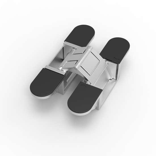 Afbeelding van Onzichtbaar scharnier Exo xc10 zwart