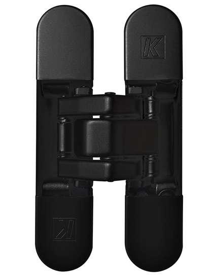 Afbeelding van Atomika Slim K8060 verborgen scharnier, kleur zwart, 30 minuten brandwerend, 60kg draagvermogen