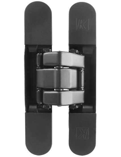 Afbeelding van Atomika Karakter K8080 verborgen scharnier, kleur zwart, 60 minuten brandwerend, 80kg draagvermogen