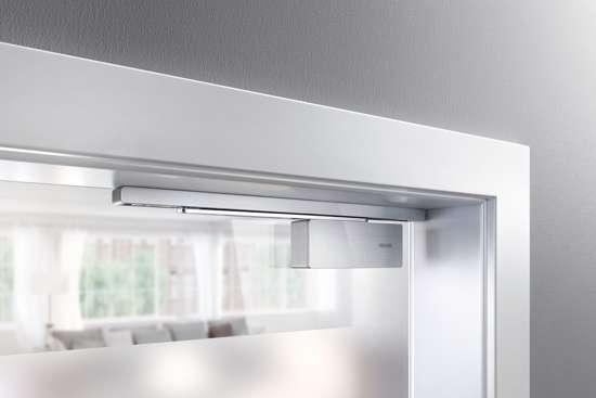 Afbeelding van ActiveStop deurdemper voor opbouw montage,kleur wit, voor glazen deuren