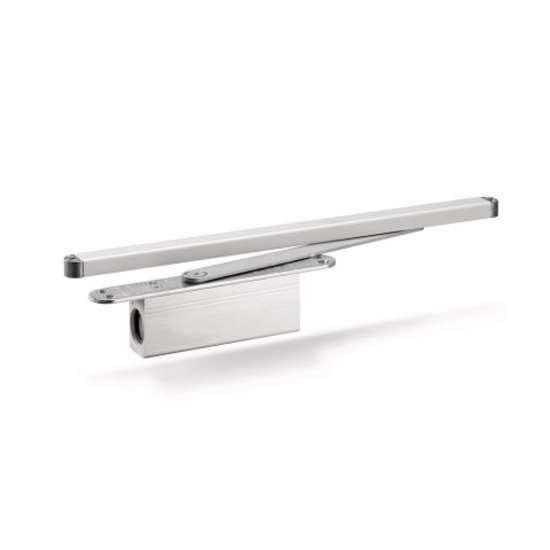 Afbeelding van ActiveStop deurdemper voor inbouw montage, zilverkleur, voor houten deuren