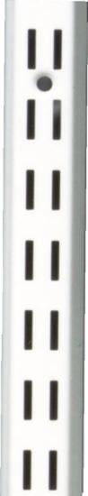 Afbeelding van Wandrail Fipro dubbel wit 250cm