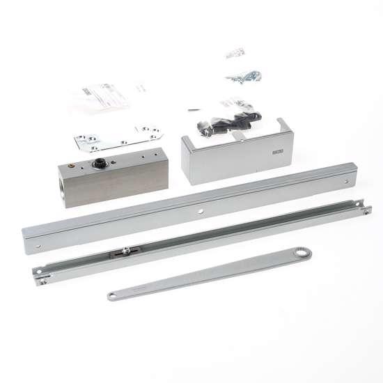 Afbeelding van ActiveStop deurdemper voor opbouw montage, zilverkleur, voor houten deuren