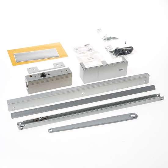 Afbeelding van ActiveStop deurdemper voor opbouw montage, zilverkleur, voor glazen deuren