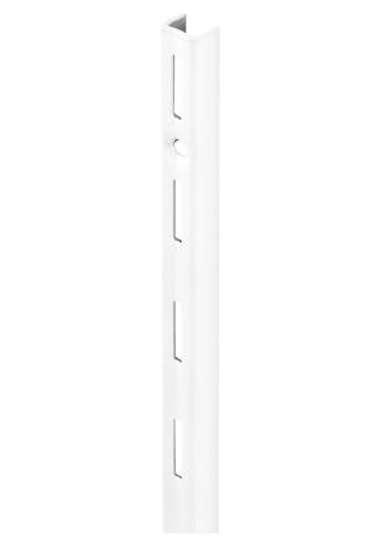 Afbeelding van Wandrail Element enkel sys 50 staal wit 200cm 10000-00088