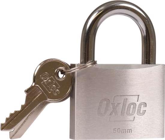 Afbeelding van Hangslot Oxloc Alu 50mm