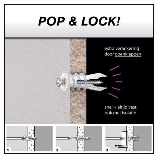 Afbeelding van Aris & Monas Gipsplaatplug 9.5-15mm mini set van 40 pluggen