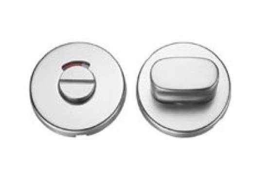 Afbeelding van Wc-rozet rond aluminium F1