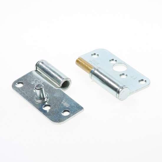 Afbeelding van Paumelle afgeronde hoek met veiligheidspen topcoat ls 3mm 89x89mm.