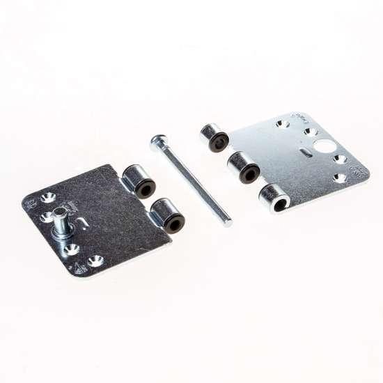 Afbeelding van Smart-Easyfixscharnier 89x150mmx3 afgeronde hoek met veiligheidspen verzinkt los