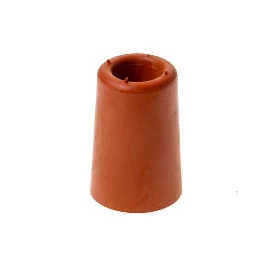 Afbeelding van Deurbuffer rood     60mm